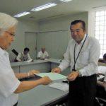 古賀市「核兵器禁止条約の早期締結を求める署名」を実施